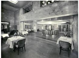 conte di savoia first class buffet and dining room italian