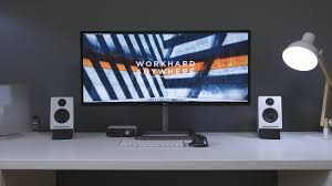desk minimalist minimalist desk setup tour 2017 youtube