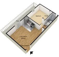 one bedroom floor plans small 1 bedroom apartment floor plans home intercine