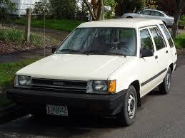 classic toyota curbside classic 1984 toyota tercel wagon