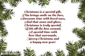 special gift joy short christmas poem
