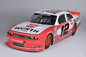 Dodge Challenger Nascar - wurth group joins penske racing as a sponsor in 2012 wurth wood