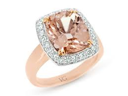 wedding rings nz morganite and diamond ring the goldsmith