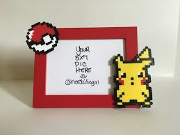 pokemon picture frame pokemon birthday pokemon party pikachu