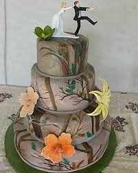 camo wedding cake toppers wedding cakes camo wedding cake toppers pictures