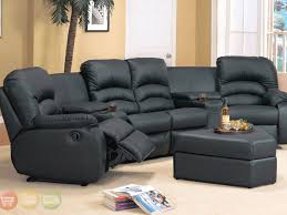 Modern Reclining Sectional Sofas by Sofa 10 Appealing Sofas Modern Black Leather Sectional Sofa