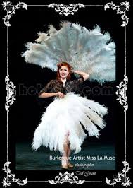 burlesque fans small layers ostrich feather fan 25 x 43 burlesque dancer