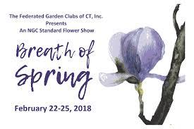 ct flower u0026 garden show u201cbreath of spring u201d federated garden