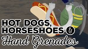 dogs horseshoes grenades htc vive