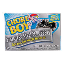 Patio Scrubber by Chore Boy Stainless Steel Scrubbers 10811435002180 Scouring