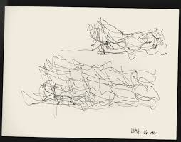 the freeform scribbles that give rise to frank gehry u0027s buildings