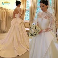 cheap wedding dresses china backless vintage lace long sleeves