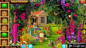 new game flowers garden escape walkthrough youtube