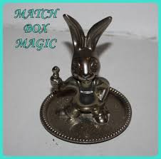 antique rabbit ring holder images Silver collectible silver plated seba made in england bunny jpg