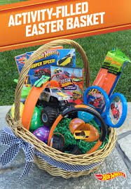 kids filled easter baskets hot wheels last longer than chocolate give your kids the ultimate