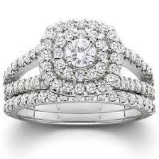 diamond wedding sets diamond engagement and matching wedding ring