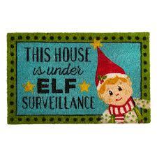 door mats coir doormats christmas doormats christmas tree