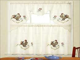 Red Kitchen Curtains And Valances by Kitchen Red And Black Curtains Kitchen Curtains And Valances