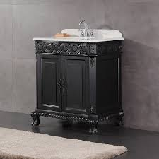 30 Inch Bathroom Vanity With Sink by Ove Decors Trent 30 Inch Antique Black Single Sink Bathroom Vanity