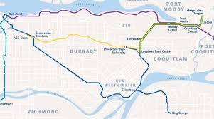 vancouver skytrain map skytrain routes millennium line will no longer run to