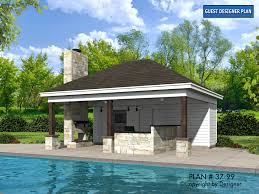 pool home plans pool house plan 37 99 house plans by garrell associates inc