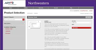 Business Card And Letterhead Business Cards And Letterhead Brand Tools Northwestern University