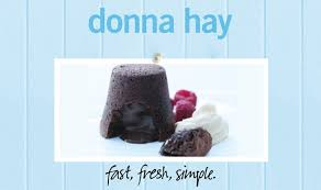 cheat u0027s chocolate fondant donna hay fast fresh simple the home