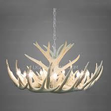 Authentic Antler Chandelier Antler Lighting Fixtures Lighting Designs