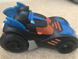 imaginext batmobile with lights fisher price imaginext batman batmobile car lights sounds figure