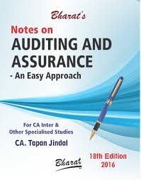 buy notes on auditing u0026 assurance an easy approach by ca tapan