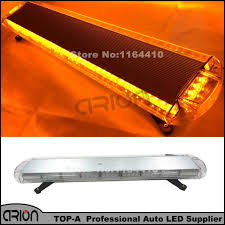 42inch 1080mm 80 led strobe light bar fireman