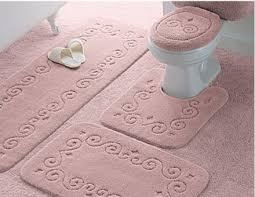 pink bathroom rug sets bath nbacanotte s rugs ideas light