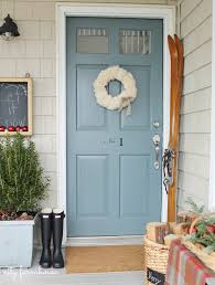 city farmhouse dressed up her front door painted in our charlotte