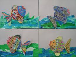 once upon an art room rainbow fish