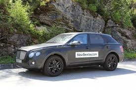 2016 bentley falcon bentley suv interior revealed in prototype u0027s first spyshots