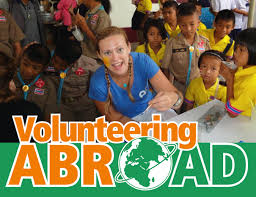 volunteering abroad options for 15 to 25 year olds