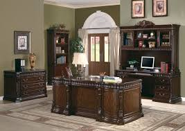 amazing black wooden corner desk with drawers and shelf plus brown