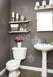 bathroom walls decorating ideas restroom wall decor with bathroom decorations image
