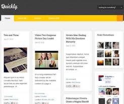 quickly blogger template newbloggerthemes com