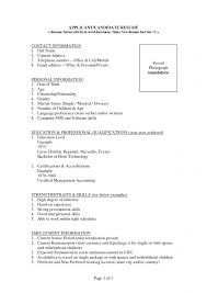 portfolio template word model resume templates for ms word free example format download