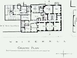 ground plan plate 95 carrington house section and ground plan british