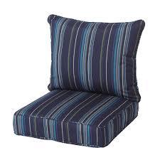 Patio Chairs Cushions Navy Blue Patio Chair Cushions Bradenton 2 Piece Outdoor Wicker