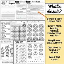 thanksgiving unit for kindergarten and grade by
