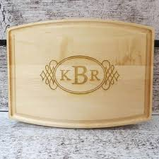 monogramed cutting boards cutting boards donebetter
