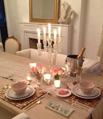 decorations valentine table scape pastel colored with wood craft placemat and crystal chandelier for valentine