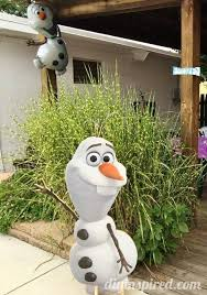 Olaf Outdoor Christmas Decorations by Frozen Birthday Party Ideas Diy Inspired