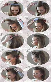 Hairstyle Steps For Girls by 68 Best Hair Style For Girls Images On Pinterest Hair Style