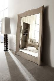 Bevelled Floor Mirror by Modern Living Room Mirror Stand Up Floor Mirror Los Angeles