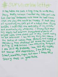 read the beautiful love letters sexual assault survivors are