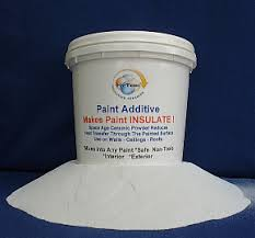 Heat Reflective Spray Paint - insulating paint additive makes paint insulate